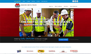 Featured Commercial Construction Website - General Contractor.com